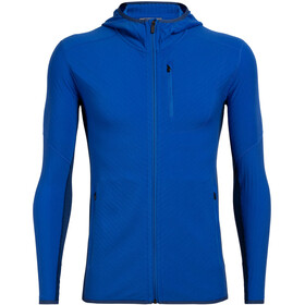 Icebreaker Descender Langarm Zip Hoodie Herren lapis/estate blue